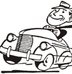 Car and Driver Cartoon